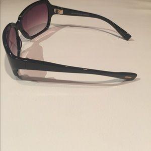Oliver Peoples Accessories - Oliver Peoples Black/Rose Sunglasses